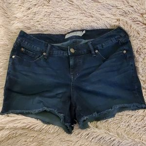 Dark wash Torrid jean shorts size 12